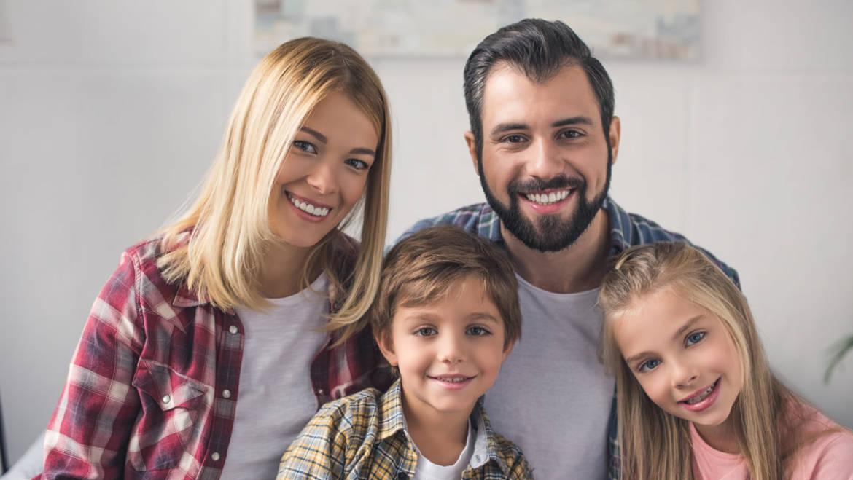 Chambre au sein d'une famille