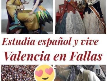 Disfruta de las Fallas durante  tu curso de español