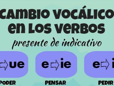 Verbos de cambio vocálico