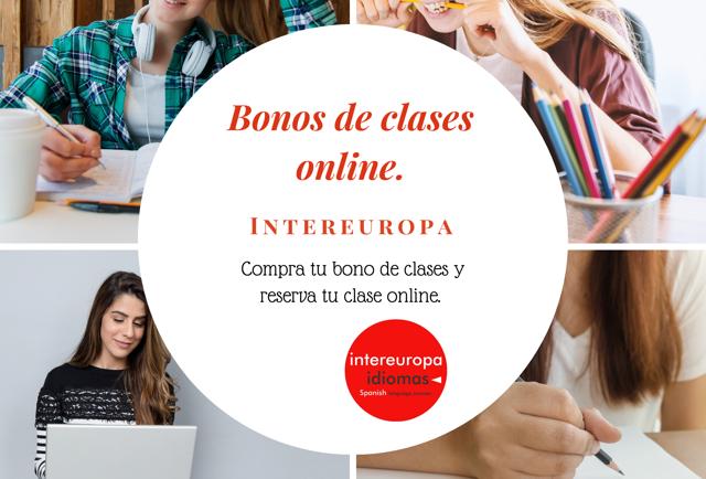 Nuevos bonos de clases online